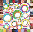 Seamless festive patterns