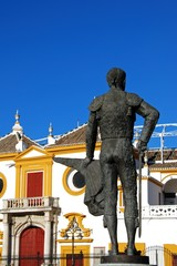 Matador statue & bullring, Seville, Spain © Arena Photo UK