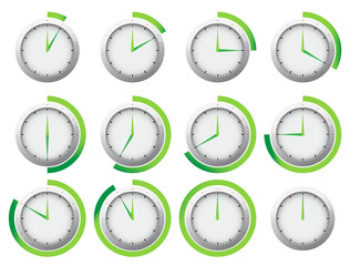 Clock - Stop watch timer set 2