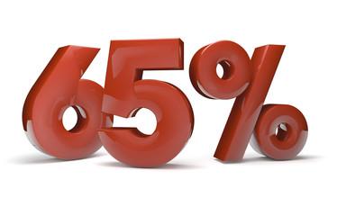 65 percent