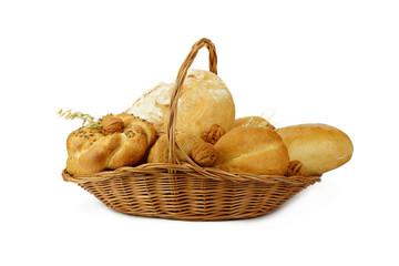 Chleb w koszyku