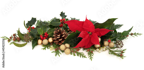 Poinsettia Floral Decoration