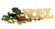 Noel Glitter Decoration