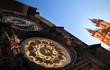Famous Prague monuments: astronomical clock (Prague Orloj)
