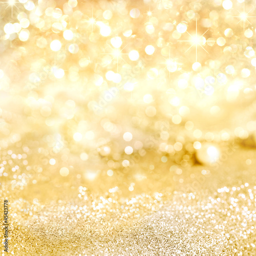 canvas print picture Background in gold