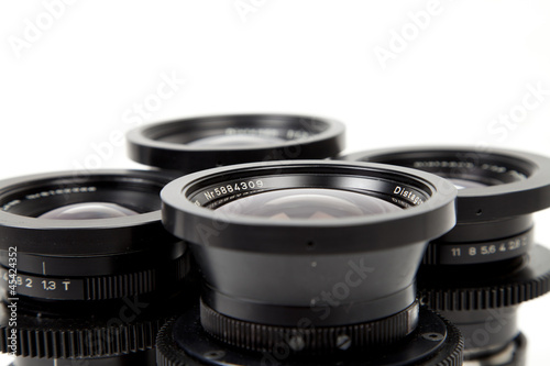 wide range of camera lenses