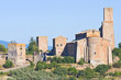 Panoramic view of Tuscania. Lazio. Italy.