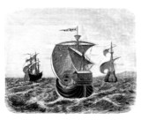 The 3 Ships of Christophus Columbus - 15th century