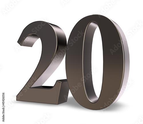 nummer zwanzig