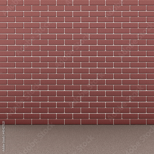 Urban Brick Wall Background