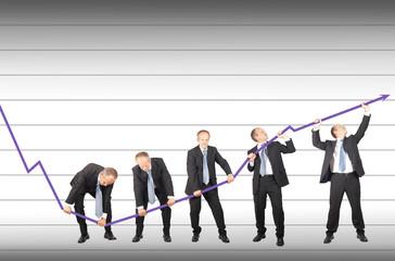 Restoring decreasing trend