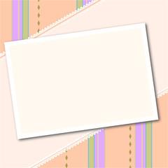 Pastellhintergrund mit Foto