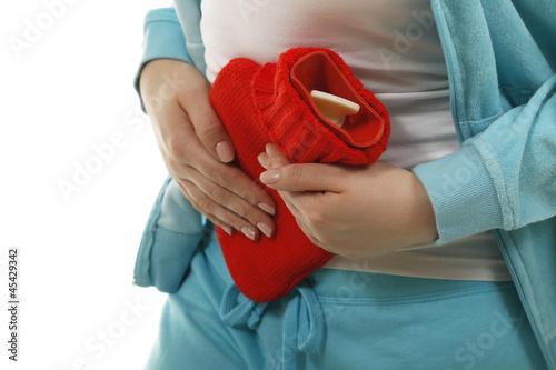 Wärmflasche bei Blasenentzündung