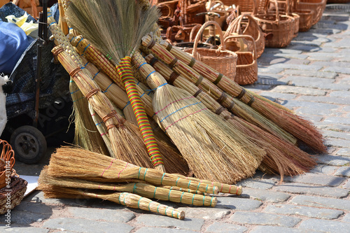 Yellow brooms