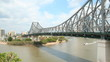 Timelapse of Story Bridge Brisbane Australia