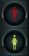Ampel symbolisch Frauenquote