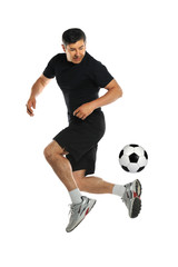 Man Playing With Soccer Ball