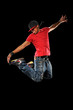 Hip Hop Man Jumping