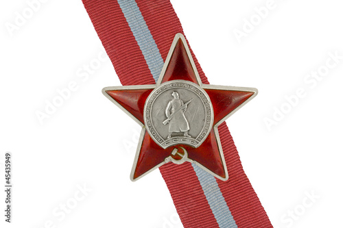Orders and medals of the USSR. Order of the Red Star.