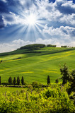 Tuscany Hills and Countryside in Chianti region
