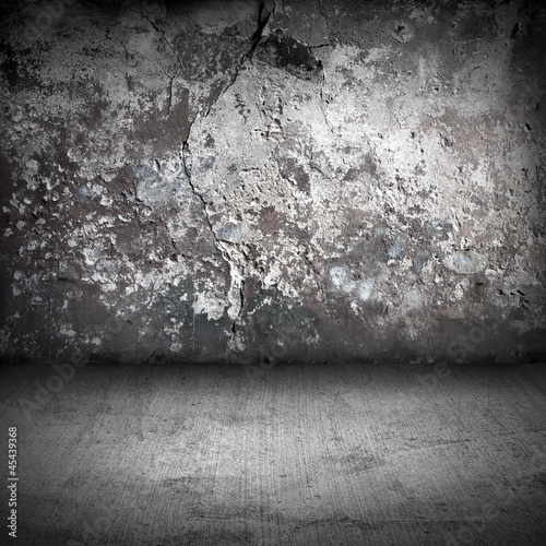Old grunge interior background