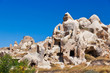 Goreme cave city in Cappadocia Turkey