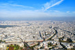 Panoramic view of the Paris