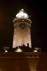 Latarnia morska w Kołobrzegu wieczorem