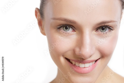Beauty girl smiling