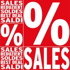 Sales mit Prozent