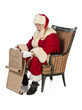 a reading santa clause