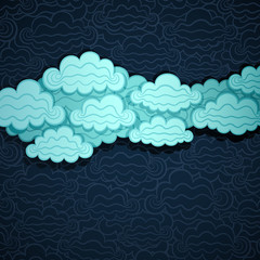Cloudy Sky Banner