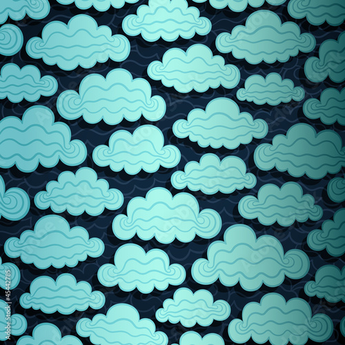 Cloudy Sky Banner