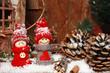 Weihnachtsmotiv Wichtel