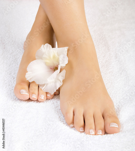 beautiful female feet