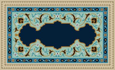 Dustum Complex Floral Frame