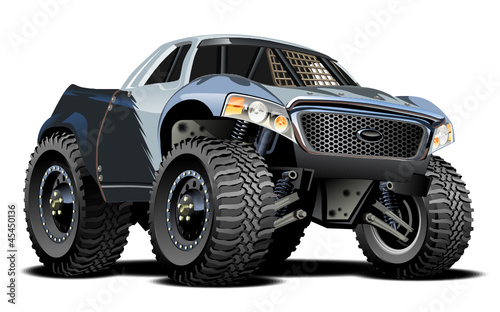 Canvas Cartoon cars Vector Cartoon Buggy