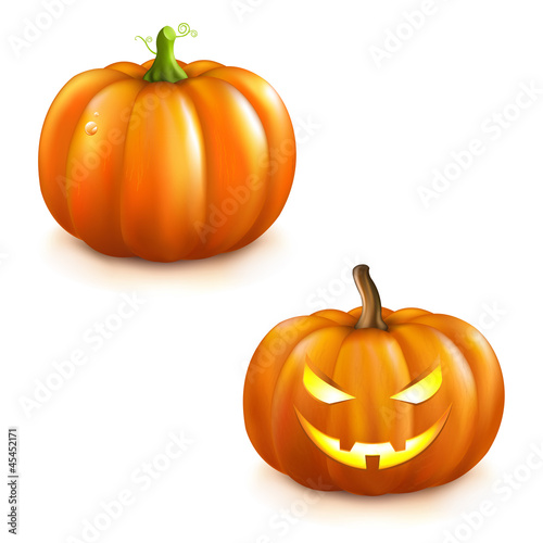 Pumpkin Set For Halloween