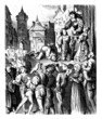 Medieval public Execution