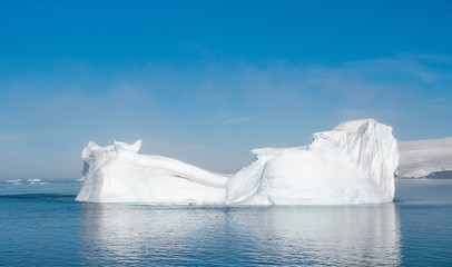 White iceberg in Antarctica