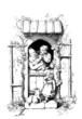 Poetic Peasant Family - 19th century