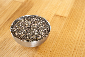 Dish of Chia Seeds