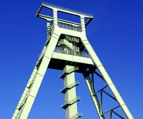 Förderturm Industriemuseum in BOCHUM
