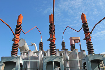 electricity transformer high voltage into a powerhouse of produc