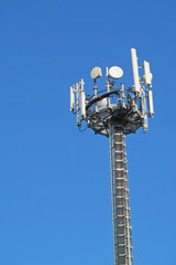 Antennas for the transmission of signals cellular mobile phone