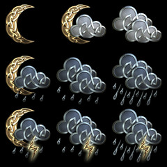 Weather icons - 3