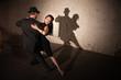 Pretty Tango Dancer with Partner