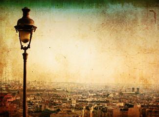 old-fashioned paris Montmartre