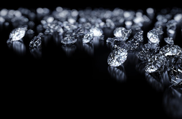 Diamonds background
