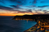 Sunset at the Atlantic Ocean, Bay of Sesimbra, Portugal - 45465972